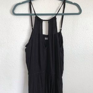 Oneill Surf Black Maxi Dress Glitter Black